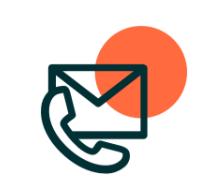 Contact us icon visual
