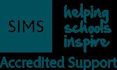 SIMS Accreditated logo visual